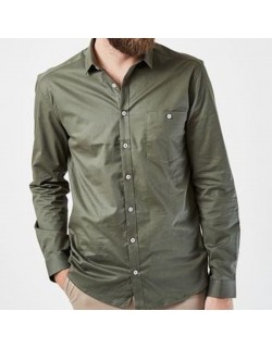 Dean Skjorte Dust Green-00