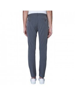 Josh Pants Grey Melange-00