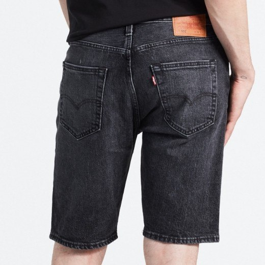 501 ORIGINAL Bermuda Shorts Sort-02
