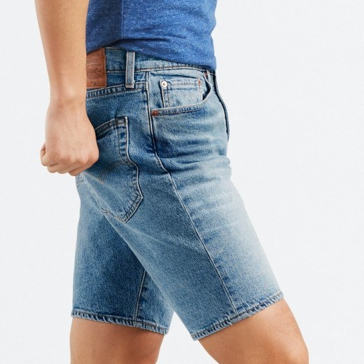 502 Levis Bermuda Shorts Blue-01