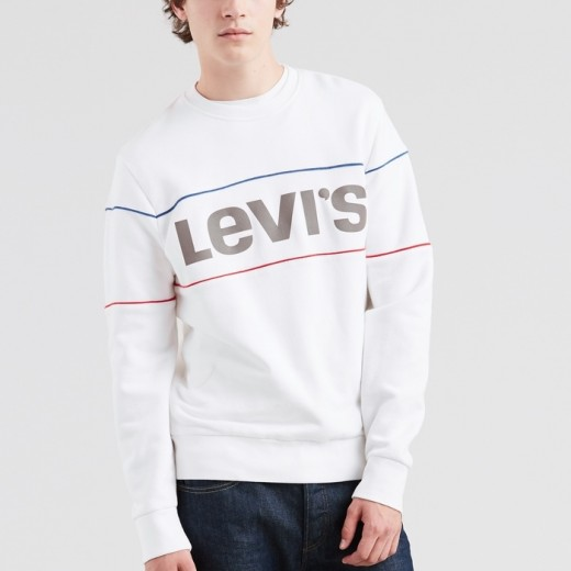 Reflective CB Crew Sweater – White-32