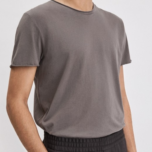 Roll Neck Tee Gull Grey-01