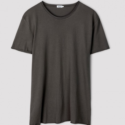 Roll Neck Tee Gull Grey-31