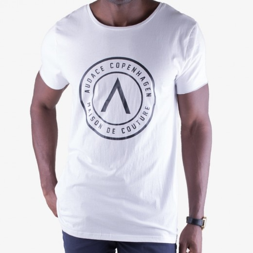 Maison De Couture Tee White with Black-01
