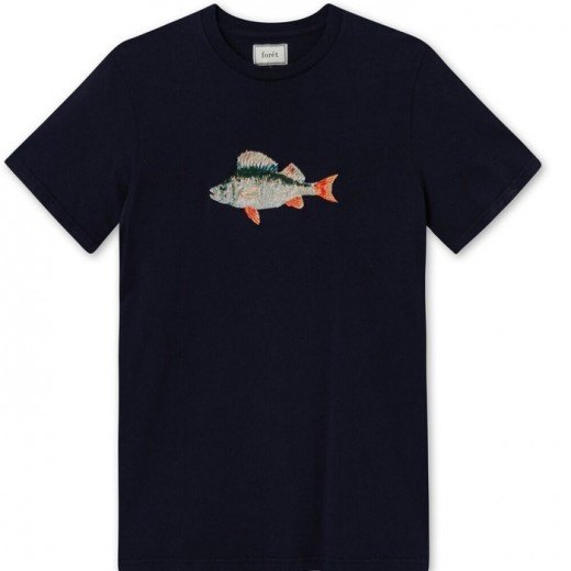 Perch T-Shirt Midnight Blue-31