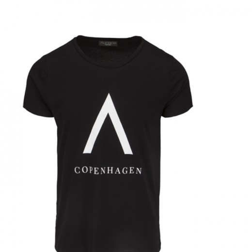 CPH Print Tee Black with White-31