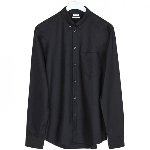 PAUL OXFORD SHIRT Black-31
