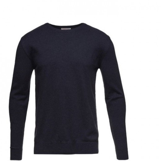 Knowledge Cotton Basic Navy Blå-34