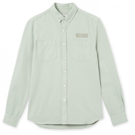 Bear Canvas Shirt Sage Green-31