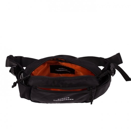 Black Carnival Waistbag Black w/ White Print-01