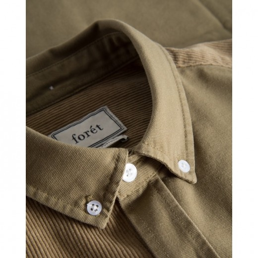 Claw Shirt Olive-01