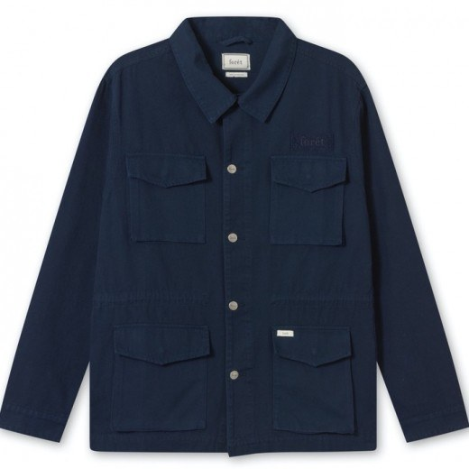 Compas Canvas Jacket Midnight Blue-36
