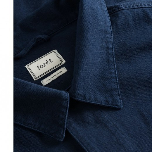 Compas Canvas Jacket Midnight Blue-06