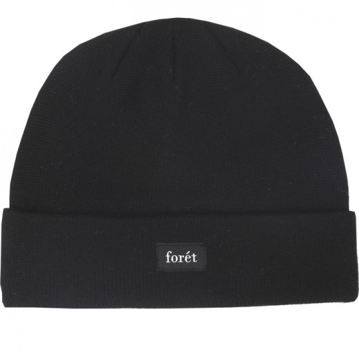 CREEK BEANIE – BLACK-31
