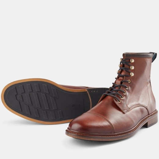 Curtis L Lace-up Boot Tan-33