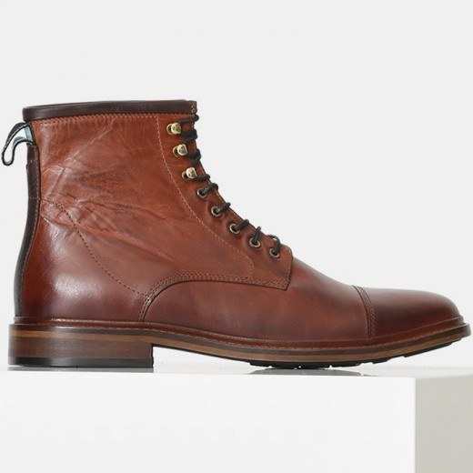 Curtis L Lace-up Boot Tan-03