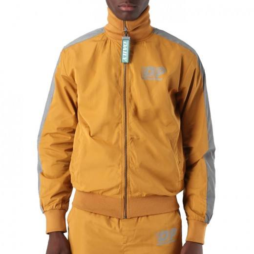 Deed Tracksuit Jacket Yellow-31