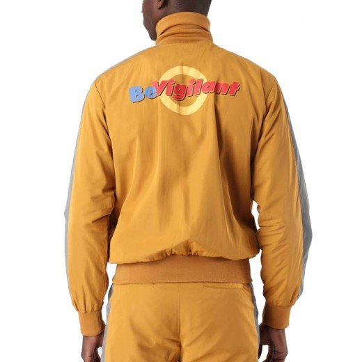 Deed Tracksuit Jacket Yellow-01