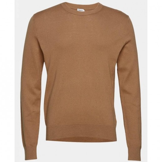 Cotton Merino Sweater Tobacco-31