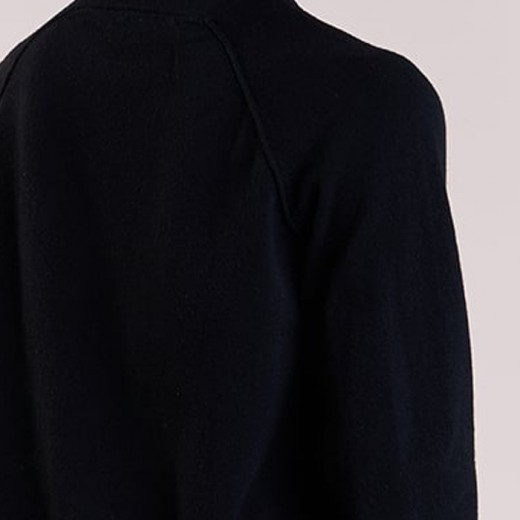 Wool Elastane Sweatshirt Black-01
