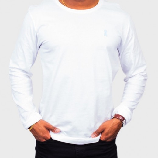 T-shirt LS White-31