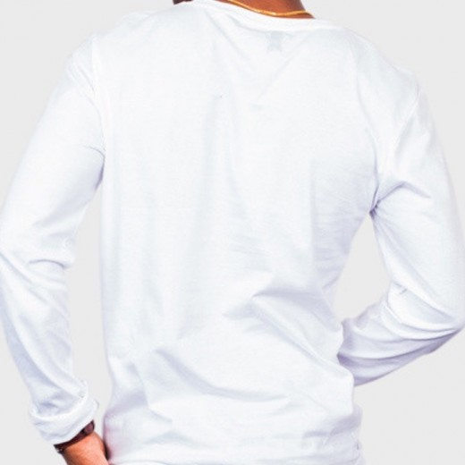 T-shirt LS White-01