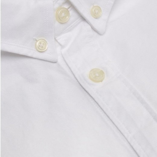 Oxford Skjorte button down hvid-01