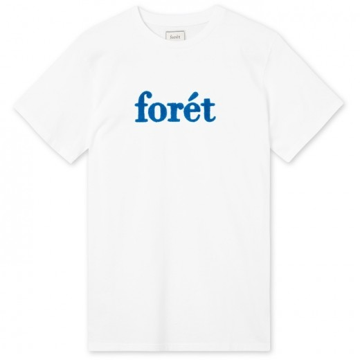 LOG T-Shirt White/Blue-32