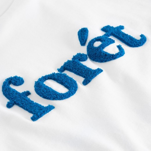 LOG T-Shirt White/Blue-02