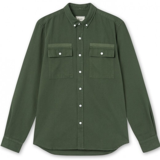 LUMBER SHIRT DARK GREEN-31
