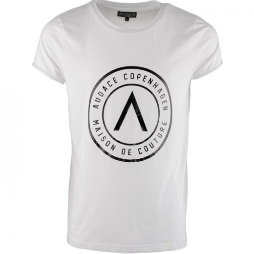 Maison De Couture Tee White with Black-31