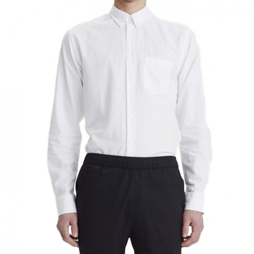 Ocean Oxford Shirt White-32