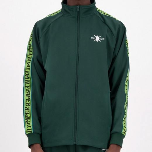 Tapevest Track Top Dark Green-32