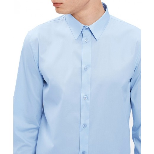 Paul Stretch Shirt Light Blue-01