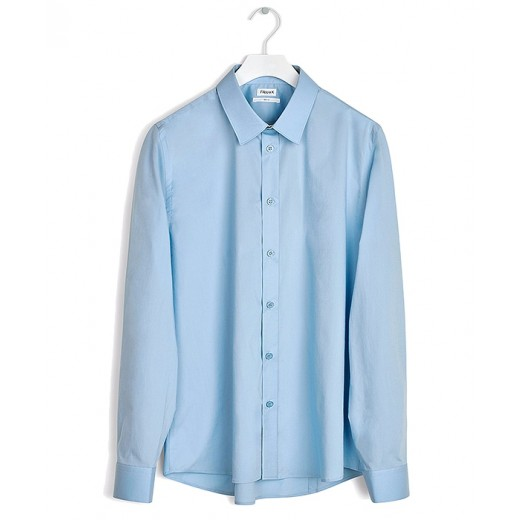 Paul Stretch Shirt Light Blue-31