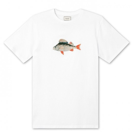 Perch T-Shirt White-34