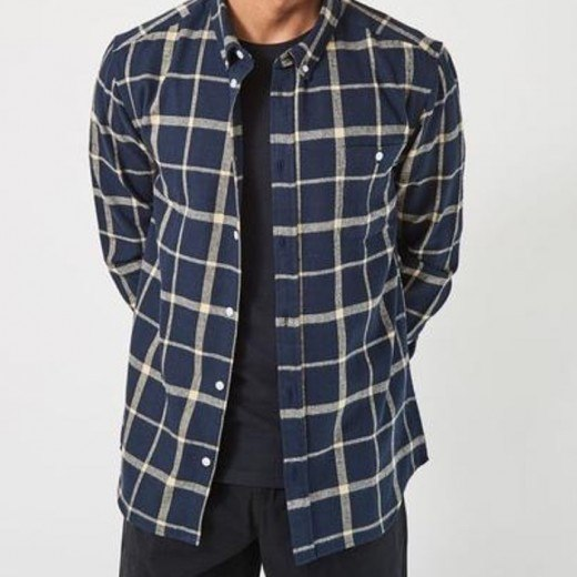 Rufus Checked-Navy-32