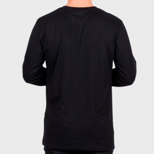 T-shirt LS Black-01