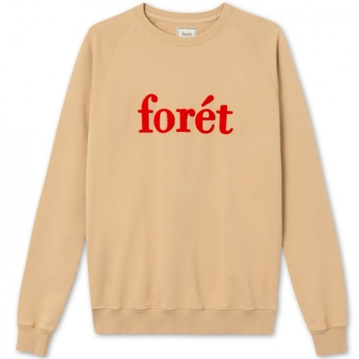 SPRUCE Sweatshirt KHAKI/RED-31