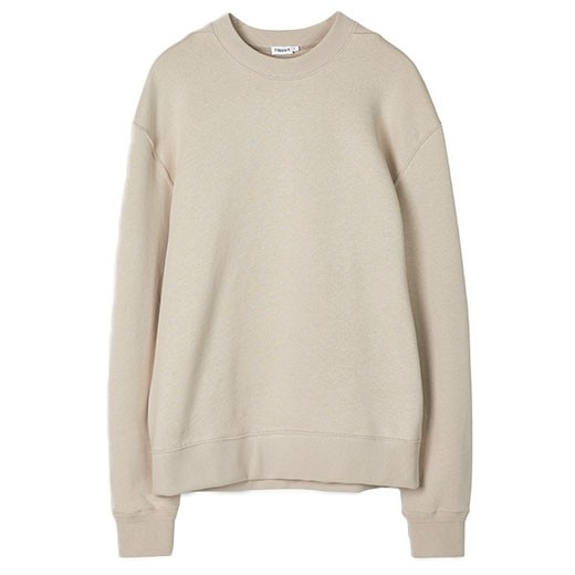 Jersey Sweatshirt Light Beige-01
