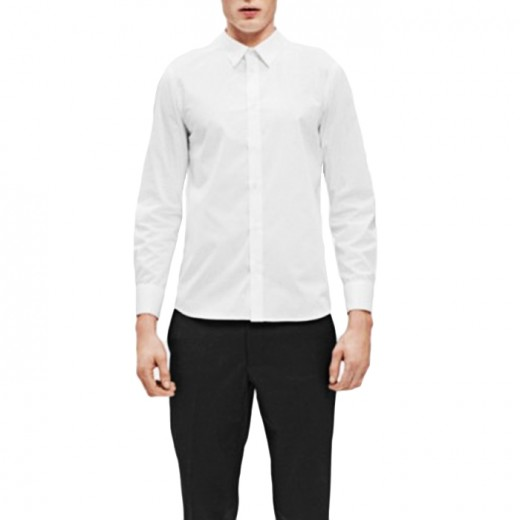 Paul Stretch Shirt White-01