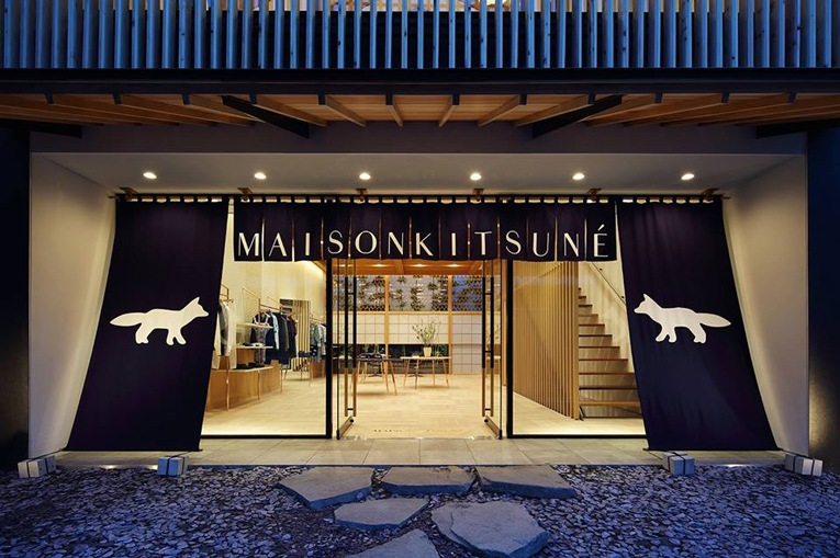 MAISON KITSUNE Paris fashion