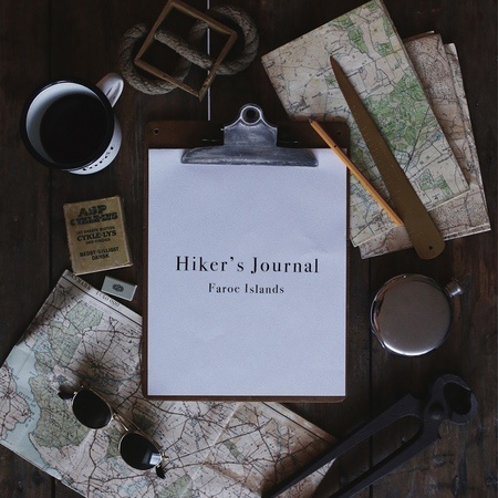 Foret Hiker's Journal Faroe Islands